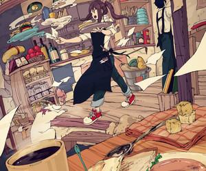 animal, animation, and art image
