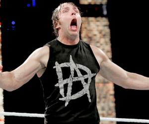 wwe, his face, and dean ambrose image