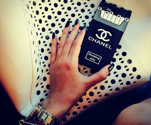 case, chanel, and nails image