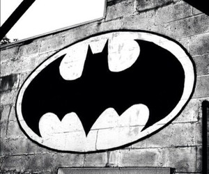 batman, wall, and black image