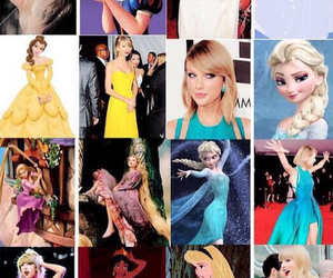 Taylor Swift, princess, and disney image