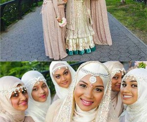 wedding, hijabi, and hijabstyle image