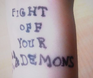 Darkness, demons, and fight image