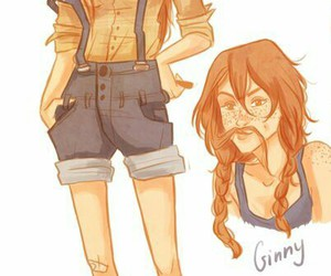 ginny weasley, hinny, and harry potter image