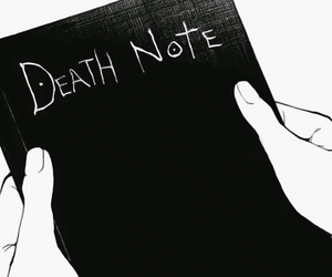 death note, anime, and manga image