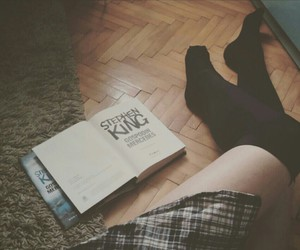 book, girl, and grunge image