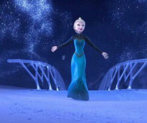 frozen, let it go, and disney image
