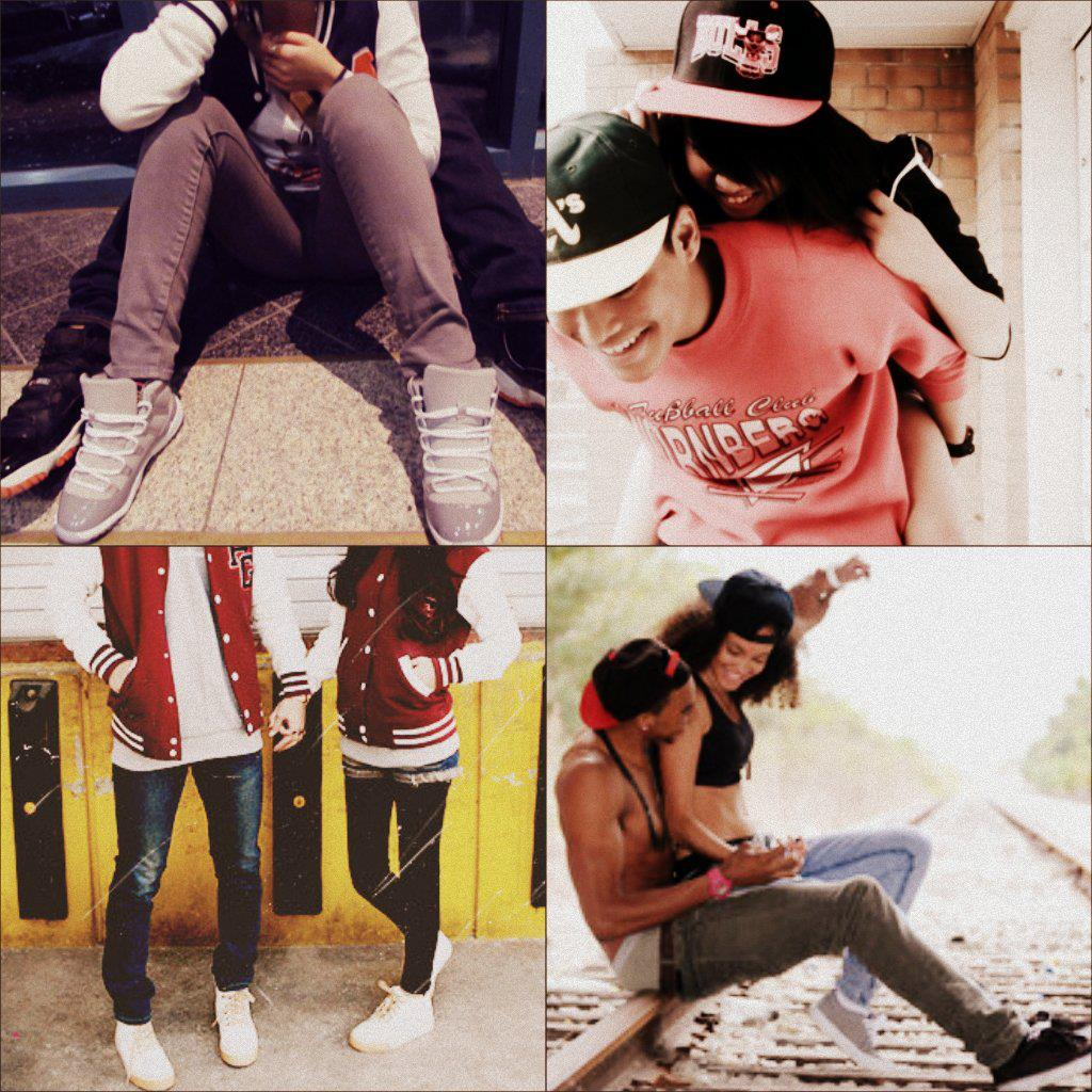 Fashion week Couples cute with swag collages for lady