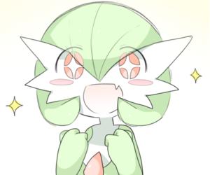 kawaii, pokemon, and gardevoir image