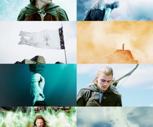 aragorn, Legolas, and the lord of the rings image