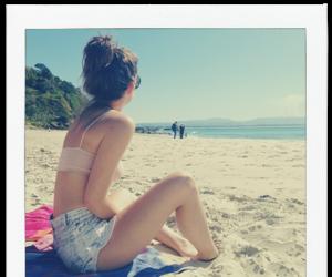 maia mitchell and beach image