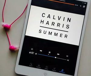 summer, music, and calvin harris image