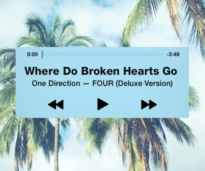 one direction, four, and song image