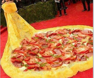 pizza, rihanna, and dress image