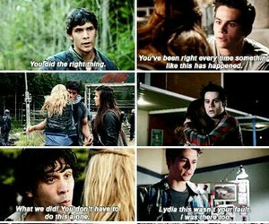 stydia, teen wolf, and the 100 image
