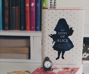alice, alice in wonderland, and books image