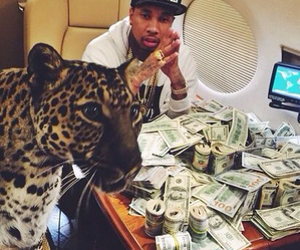 money, tyga, and rich image