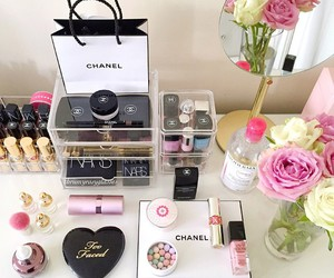 chanel, makeup, and photo image