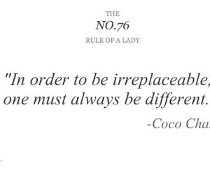 quote, chanel, and lady image
