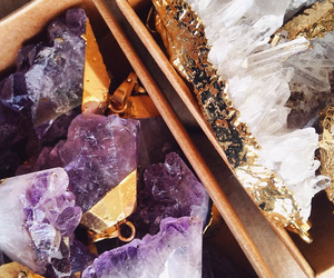amethyst, crystals, and minerals image