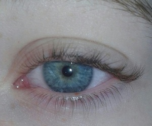 blue, pale, and eyes image