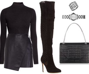 dress, party, and Polyvore image