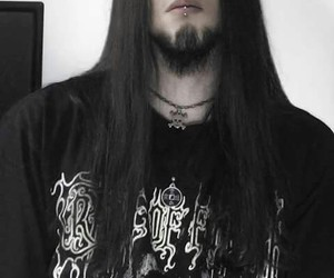 dark hair, guys with long hair, and long haired men image