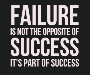 quotes, failure, and success image