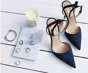 fashion, shoes, and rings image