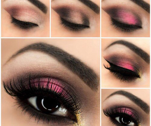 eyes tutorial rosa image