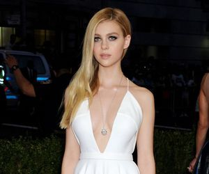 dress, fashion, and white dress image
