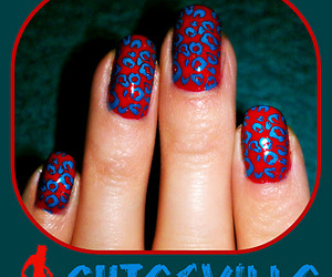 animal print, blue, and leopard image