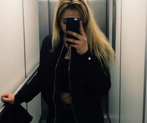 elevator, iphone, and tumblr image