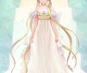 sailor moon, princess serenity, and anime image