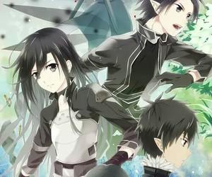 kirito and sword art online 1-2 image