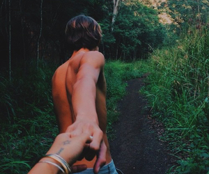 boy, photography, and couple image