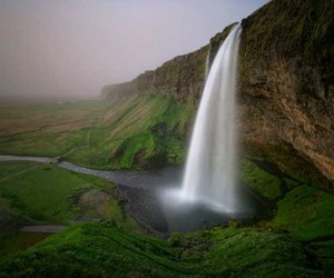 iceland, waterfall, and life as we know it. image