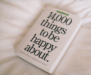 happy and book image