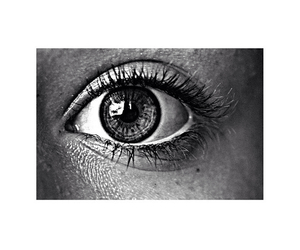 black, eyelashes, and iris image