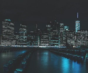 city, night, and amazing image