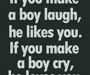 boy, cry, and laugh image