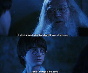 harry potter, Dream, and text image