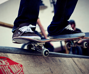 skate, vans, and boy image