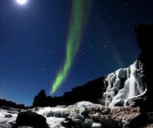 aurora boreal, luz, and belleza image