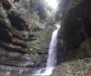 agua, paisaje, and cascada image