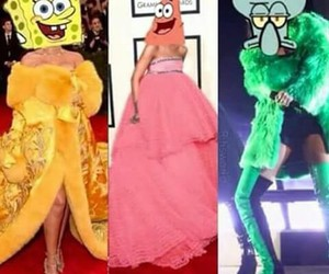 dresses, funny, and patrick image