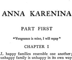 anna karenina, book, and family image