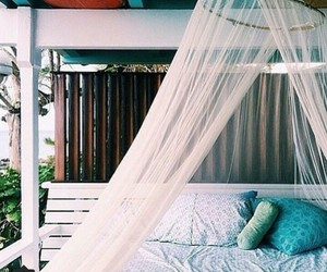 bed, summer, and tumblr image