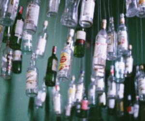 bottle, grunge, and drink image