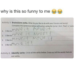 funny, lol, and move it image